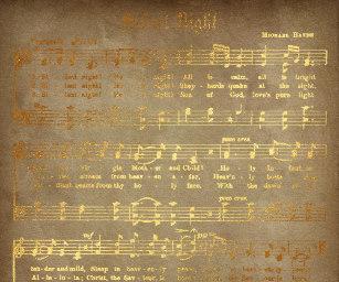 partitura dourada