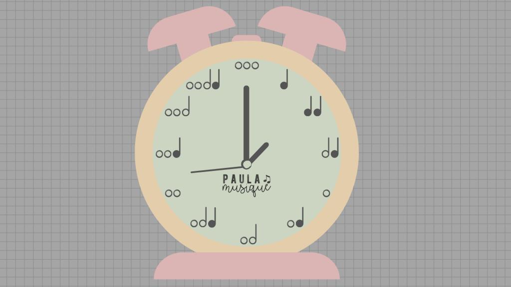 relógio musical